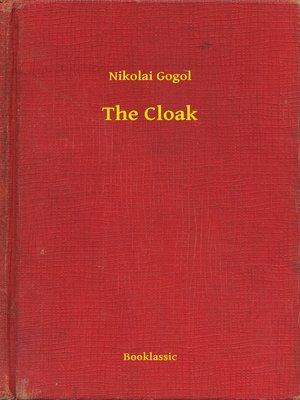 cover image of The Cloak