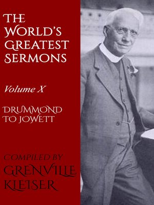 cover image of Volume X—Drummond to Jowett