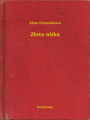 cover image of Złota nitka
