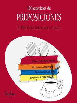 cover image of Preposiciones paso a paso