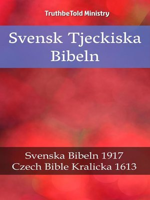 cover image of Svensk Tjeckiska Bibeln