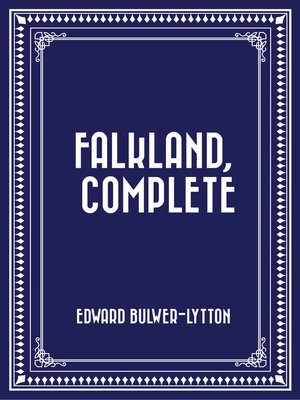 cover image of Falkland, Complete