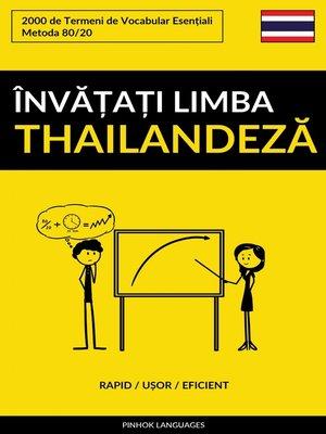 cover image of Învățați Limba Thailandeză--Rapid / Ușor / Eficient
