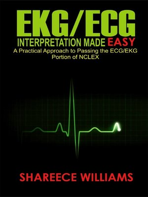 cover image of EKG/ECG Interpretation Made Easy