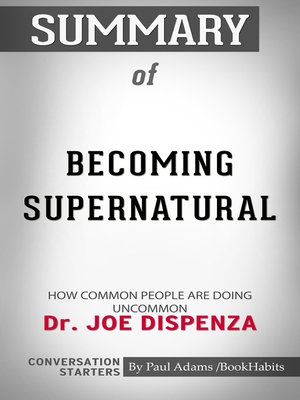 cover image of Summary of Becoming Supernatural