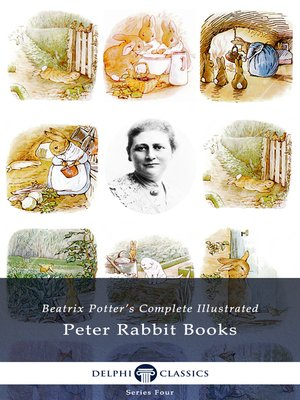 cover image of Delphi Complete Peter Rabbit Books by Beatrix Potter