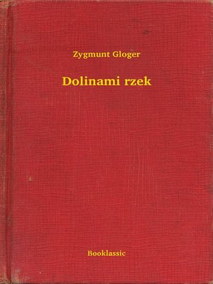 cover image of Dolinami rzek