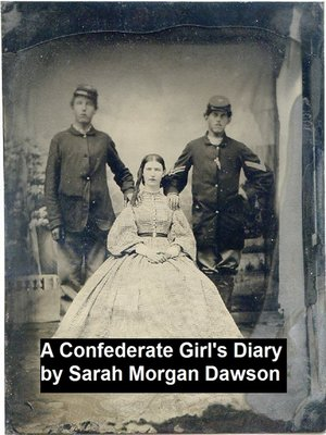 cover image of A Confederate Girl's Diary