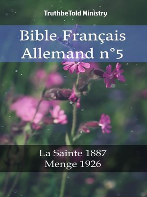 cover image of Bible Français Allemand n°5