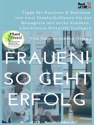 cover image of Frauen! So geht Erfolg