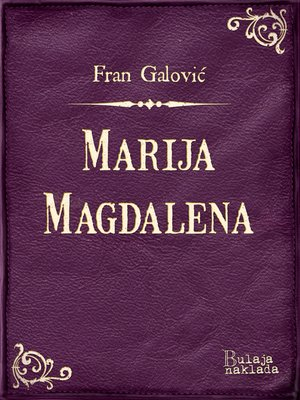 cover image of Marija Magdalena