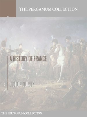 cover image of A History of France