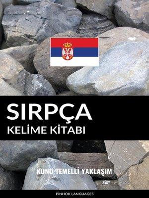 cover image of Sırpça Kelime Kitabı