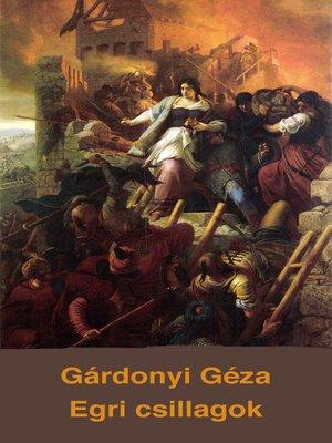 cover image of Egri csillagok