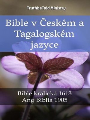 cover image of Bible v Českém a Tagalogském jazyce