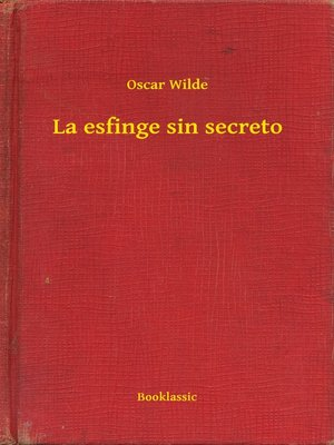 cover image of La esfinge sin secreto
