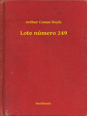 cover image of Lote número 249