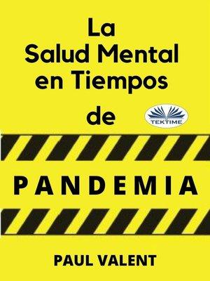 cover image of La Salud Mental En Tiempos De La Pandemia