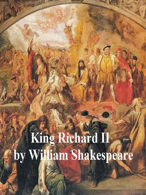 cover image of King Richard II, with line numbers