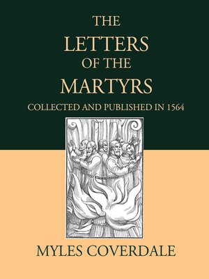 cover image of The Letters of the Martyrs