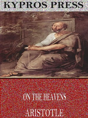 cover image of On the Heavens