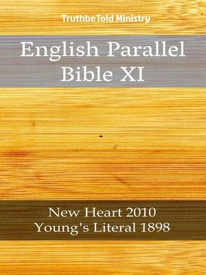 cover image of English Parallel Bible XI