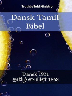 cover image of Dansk Tamil Bibel