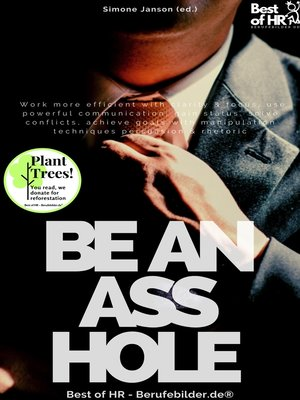 cover image of Be an Asshole