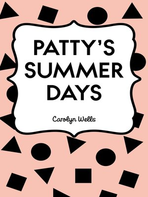 cover image of Patty's Summer Days