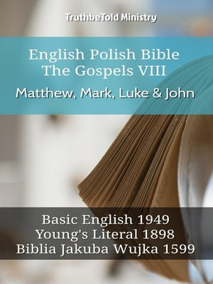 cover image of English Polish Bible--The Gospels VIII--Matthew, Mark, Luke & John
