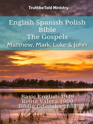 cover image of English Spanish Polish Bible--The Gospels--Matthew, Mark, Luke & John