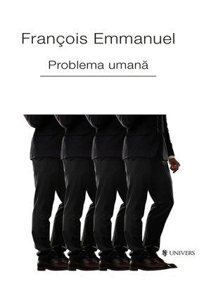 cover image of Problema umană