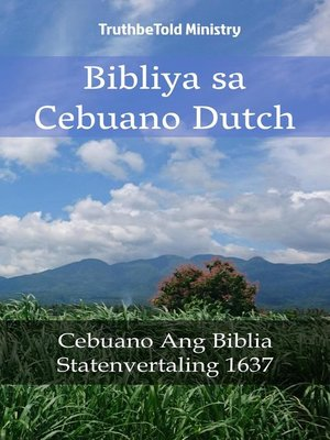 cover image of Bibliya sa Cebuano Dutch