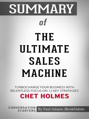 cover image of Summary of the Ultimate Sales Machine