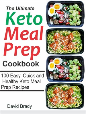 cover image of The Ultimate Keto Meal Prep Cookbook