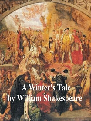 cover image of The Winter's Tale, with line numbers