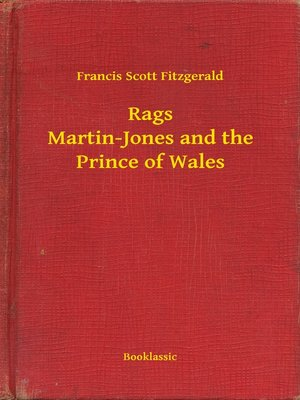 cover image of Rags Martin-Jones and the Prince of Wales