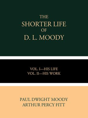 cover image of The Shorter Life of D. L. Moody