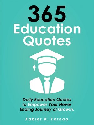 cover image of 365 Education Quotes