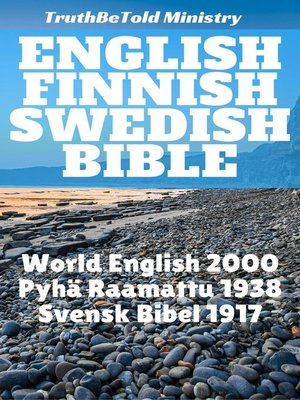 cover image of English Finnish Swedish Bible