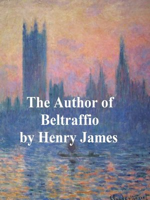 cover image of The Author of Beltraffio
