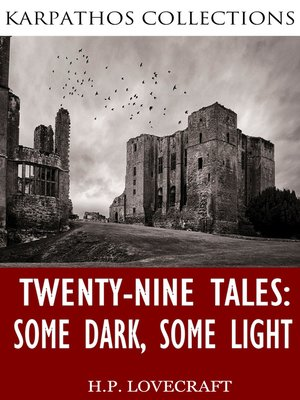 cover image of Twenty-Nine Tales: Some Dark, Some Light