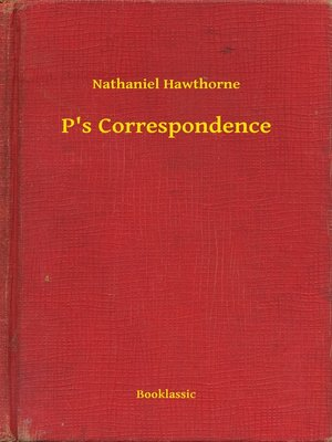 cover image of P's Correspondence
