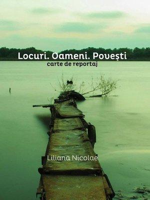cover image of Locuri. Oameni. Povești