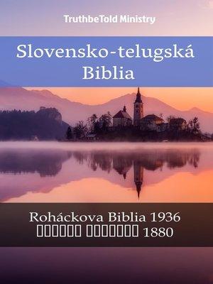 cover image of Slovensko-telugská Biblia