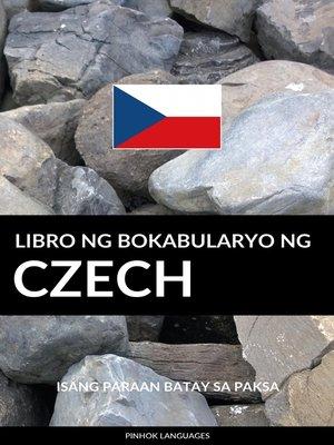 cover image of Libro ng Bokabularyo ng Czech