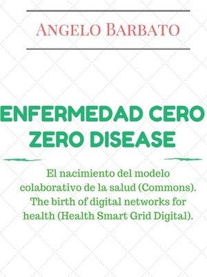 cover image of Enfermedad Cero
