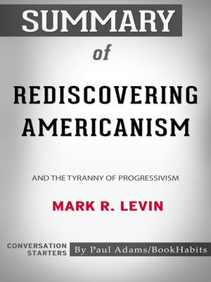cover image of Summary of Rediscovering Americanism
