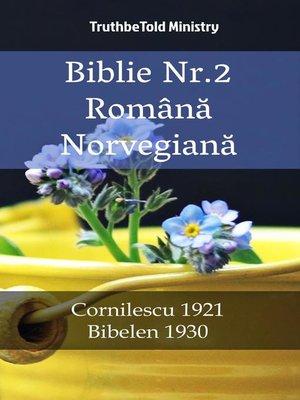 cover image of Biblie Nr.2 Română Norvegiană