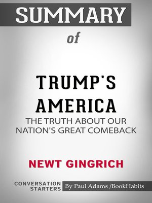 cover image of Summary of Trump's America: The Truth about Our Nation's Great Comeback
